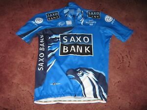 459f740b7 Image is loading SAXO-BANK-SPECIALIZED-RIIS-CYCLING-SPORTFUL-AERO-CYCLING-