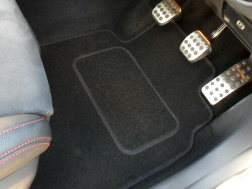 BMW 1 Series F20 5 Door 2011-on Fully Tailored Prestige Car Mats in Black.