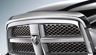 2010 Dodge Ram HD Mopar Chrome Bug Shield//Air Deflector