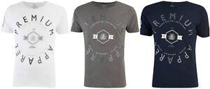 New-Men-039-s-Homme-Smith-amp-Jones-034-Kinetic-034-a-encolure-ras-du-cou-a-manches-courtes-T-shirt