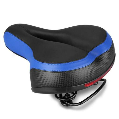 Dual spring Bike Wide Big Bum Soft Extra Comfort Saddle Bicycle Cycling Seat-Pad
