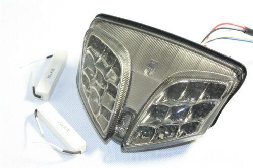 Led Tail Light Brake Turn Signal For Suzuki GSXR 600 GSX-R600 750 08-13