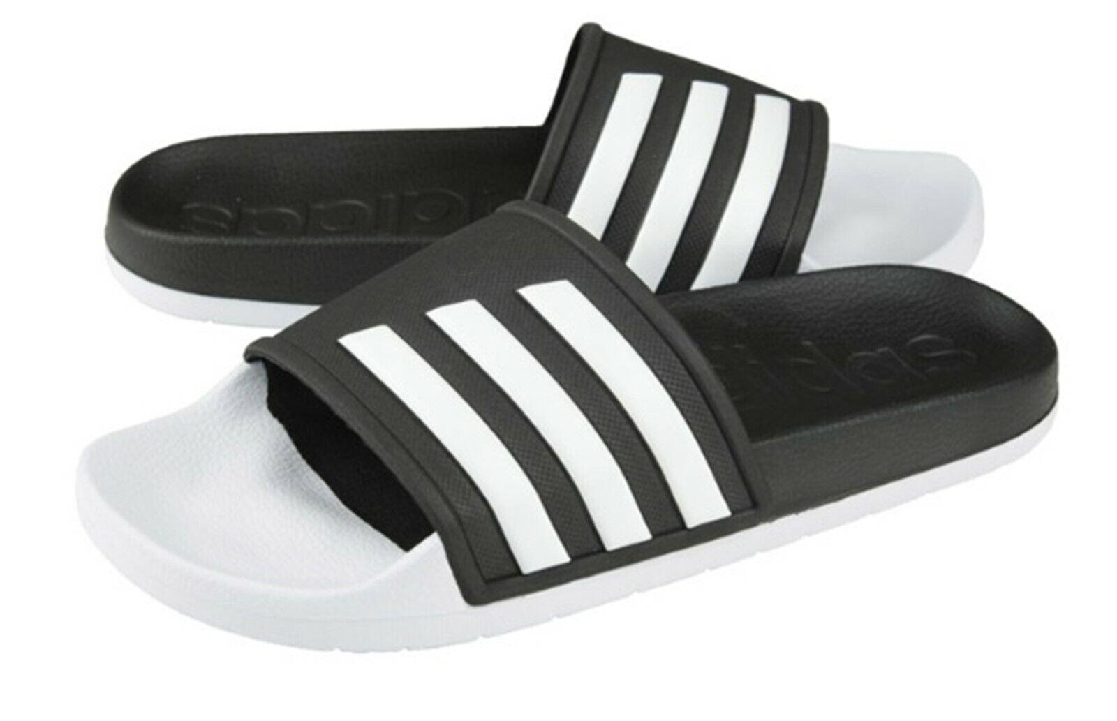 Adidas Men ADILETTE TND Slide Slipper Training Black White shoes Sandales F35437