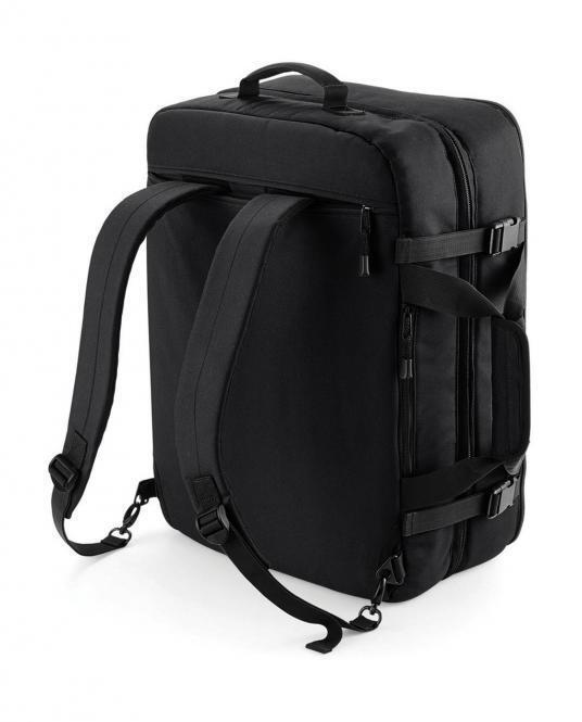 Borsone viaggio bagaglio a mano 35x50x20cm con bretelle da spalla a scomparsa