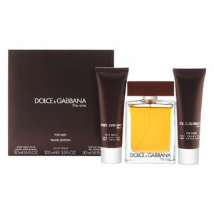 Details about Dolce Gabbana The One for Men 3 Piece  EDT Spray + After  Shave Balm + Shower Gel d7c4a27b5cd2