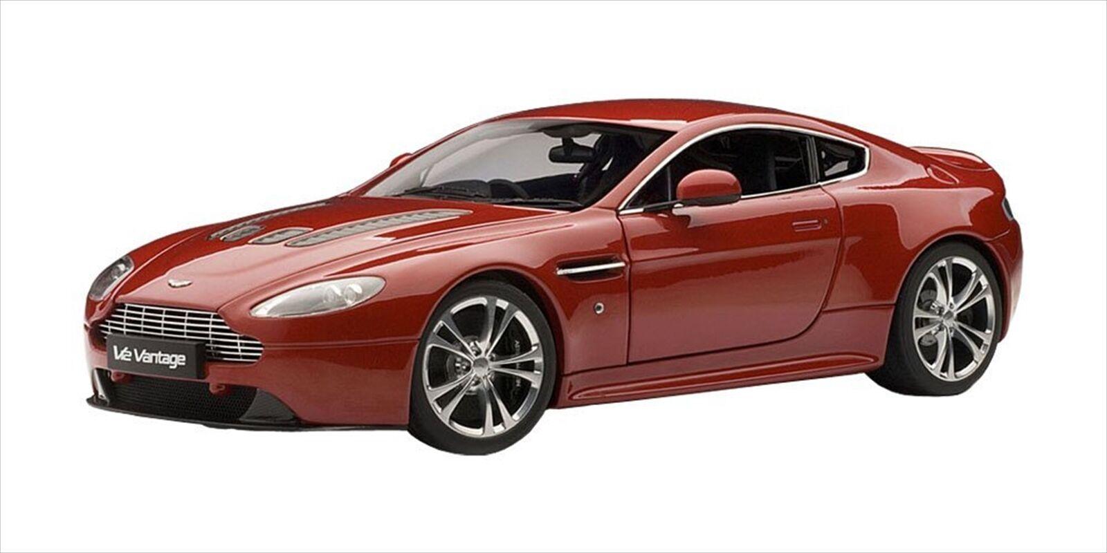 AUTOart 1 18 Aston Martin V12 Vantage 2010 rot Diecast Model 70208