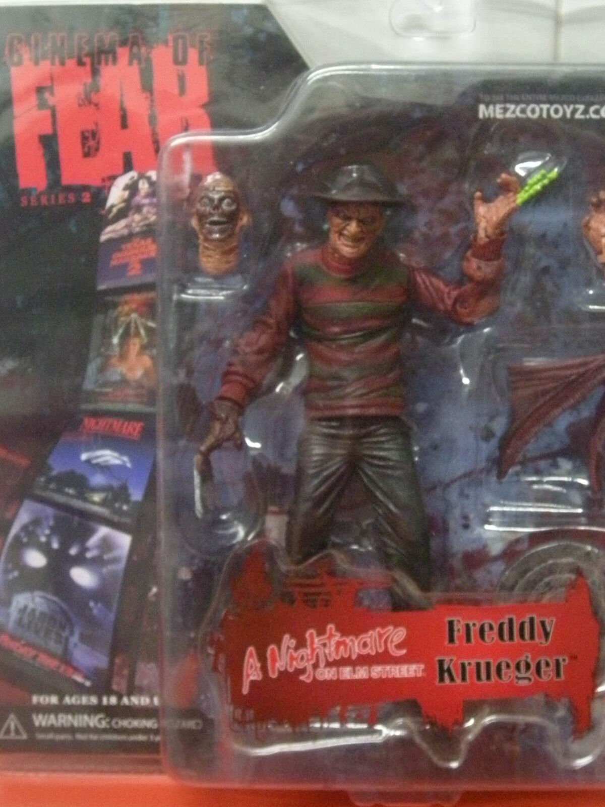 FIGURA FIGURE FEAR SERIE 2 NIGHTMARE ON ELM STREET FrotDY KRUEGER MEZCOTOYS NEW