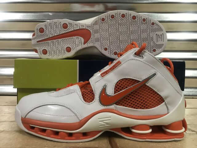 the best attitude 24f9d 125a2 Nike Shox Elite TB Retro  04 Shoes White Safety Orange SZ 12 ( 309182-