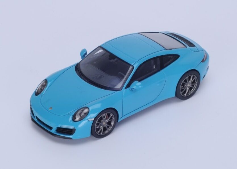 Porsche 991 Carrera S  bluee 2016 (Spark 1 43   S4937)