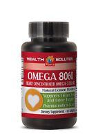 Omega 3 - Omega 8060 - Natural Omega 3 Product Of Norway 1 Bottle