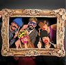 24PCS Wedding Birthday Party Masks Frame Photo Booth Props Mustache On A Stick