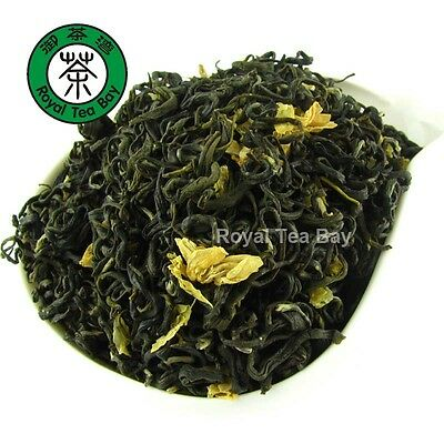 Sichuan Jasmine fuzz tip Tea T039 Cold Pool and Snow Flower Jasmine Green Tea