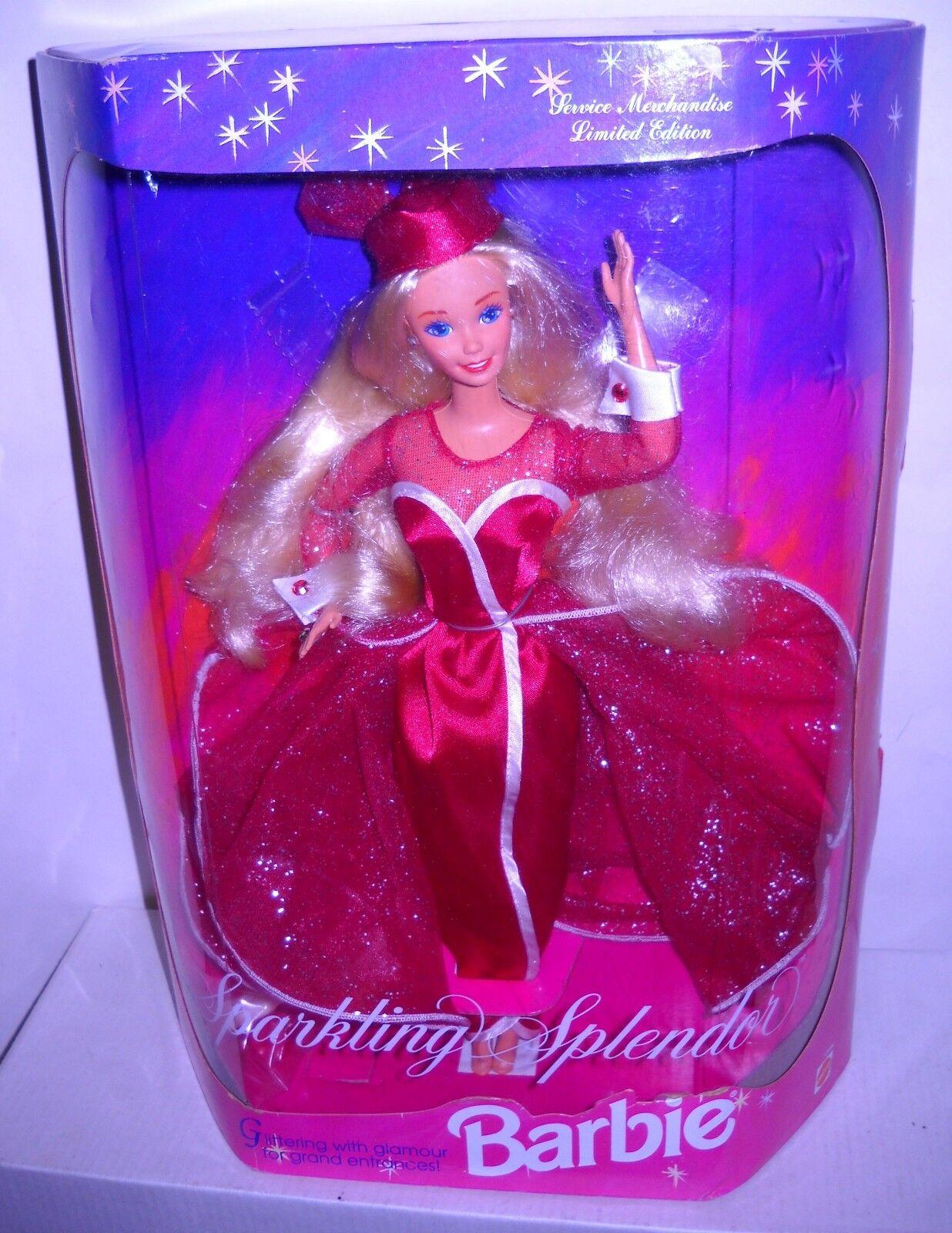 Nunca quitado de la Caja Mattel mercancía de servicio clase de Barbie de edición limitada