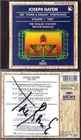 Trevor PINNOCK Signiert HAYDN Symphony No.35 38 39 59 Fire CD ARCHIV Sinfonien