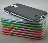 Ultra-Thin Soft Translucent Bumper Case Cover For Samsung Galaxy S4 mini i9190