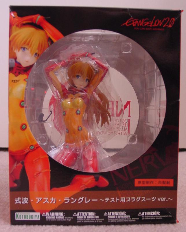 Evangelion Movie Asuka 1 6 scale Test Plug Suit Figure