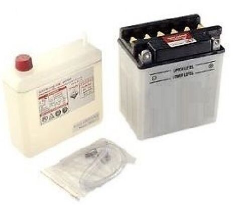 Batterie Kyoto YB4L-B avec acide pour scooter Italjet 50cc