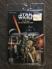 Star Wars C3po See-threepio 1996 Diecast Metal Keychain Placo