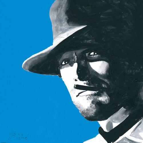 ART PRINT Clint Eastwood Bob Celic