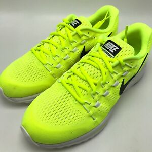 e8747e708155 Nike Air Zoom Vomero 12 Men s Running Shoes Volt Black-Volt-White ...