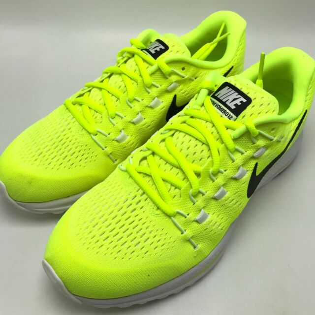 7af022b599dc Nike Air Zoom Vomero 12 Men s Running Shoes Volt Black-Volt-White 863762