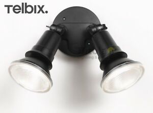 NEW-TELBIX-COMET-20w-LED-OUTDOOR-TWIN-SPOT-LIGHT-ADJUSTABLE-FLOOD-WALL-2-X-10W