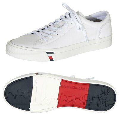 pretty nice 8352c 563b6 Tommy Hilfiger Herren Sneaker FM0FM02089 Schuhe Gr. 41 42 43 44 45 46 weiß  | eBay