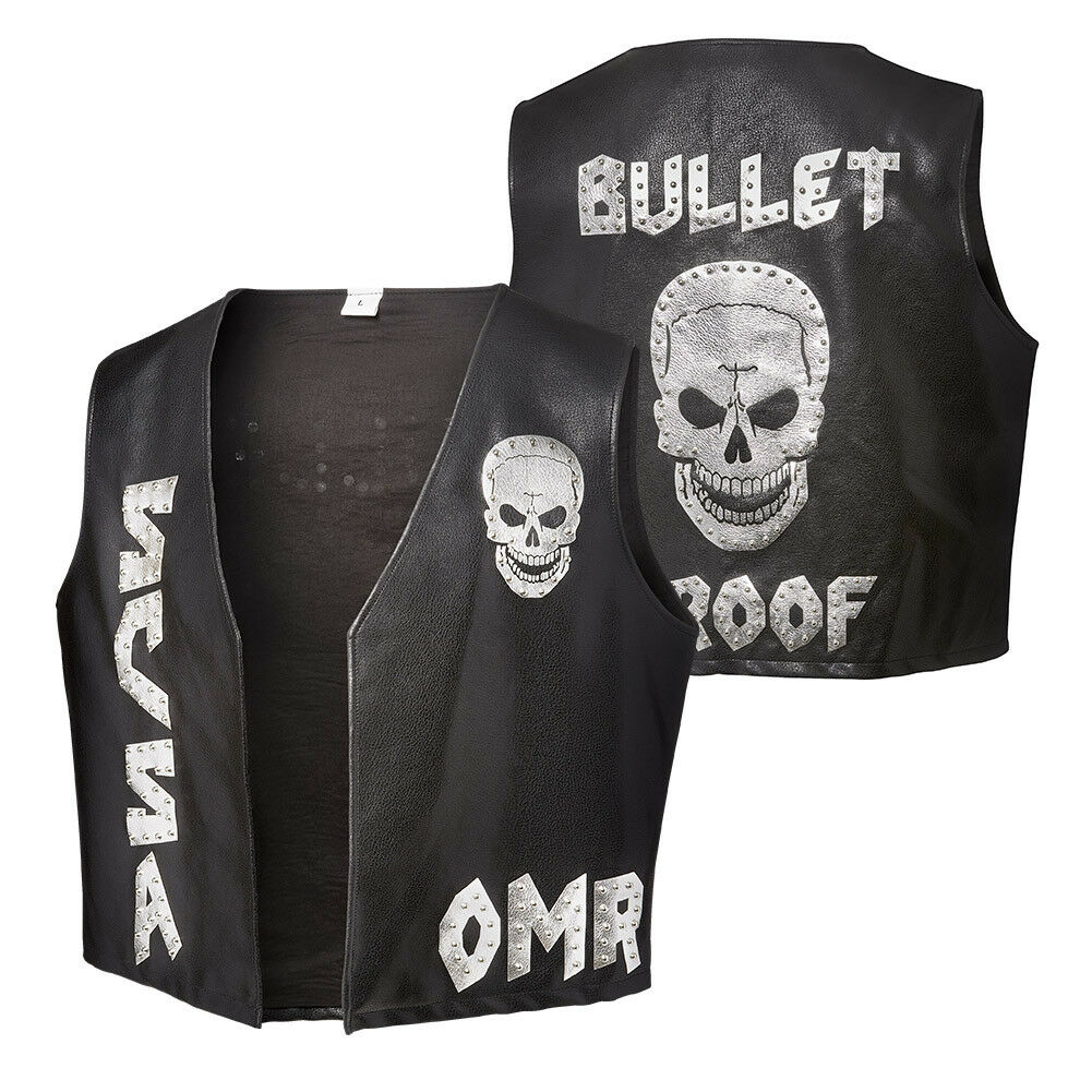 WWE STONE COLD STEVE AUSTIN ONE MORE ROUND REPLICA VEST ALL SIZES NEW
