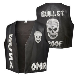 f6fe4bf1fc71f WWE STONE COLD STEVE AUSTIN ONE MORE ROUND REPLICA VEST ALL SIZES ...