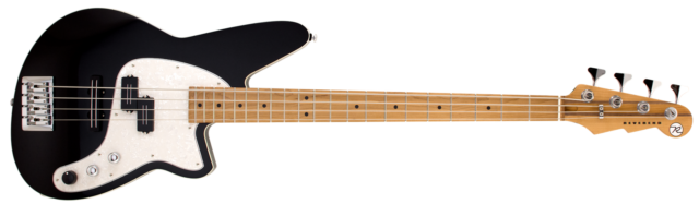 Reverend Decision P Midnight Black RM electric bass