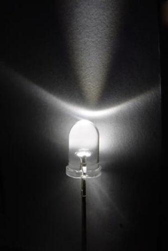 100pcs Super Bright 5mm Round Head 2pin Led Buld light emitting diode