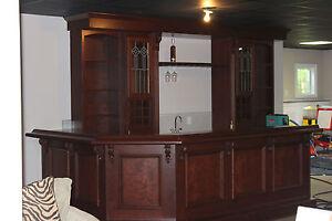 Image Is Loading Custom Built Home Bar Basement Pub