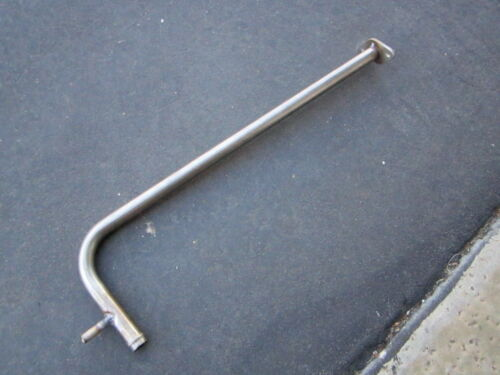 FIAT 124 SPIDER//131 HEATER PIPE NEW STAINLESS STEEL