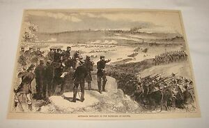 1887-magazine-engraving-AUSTRIANS-DEFEATED-BY-PRUSSIANS-Sadowa