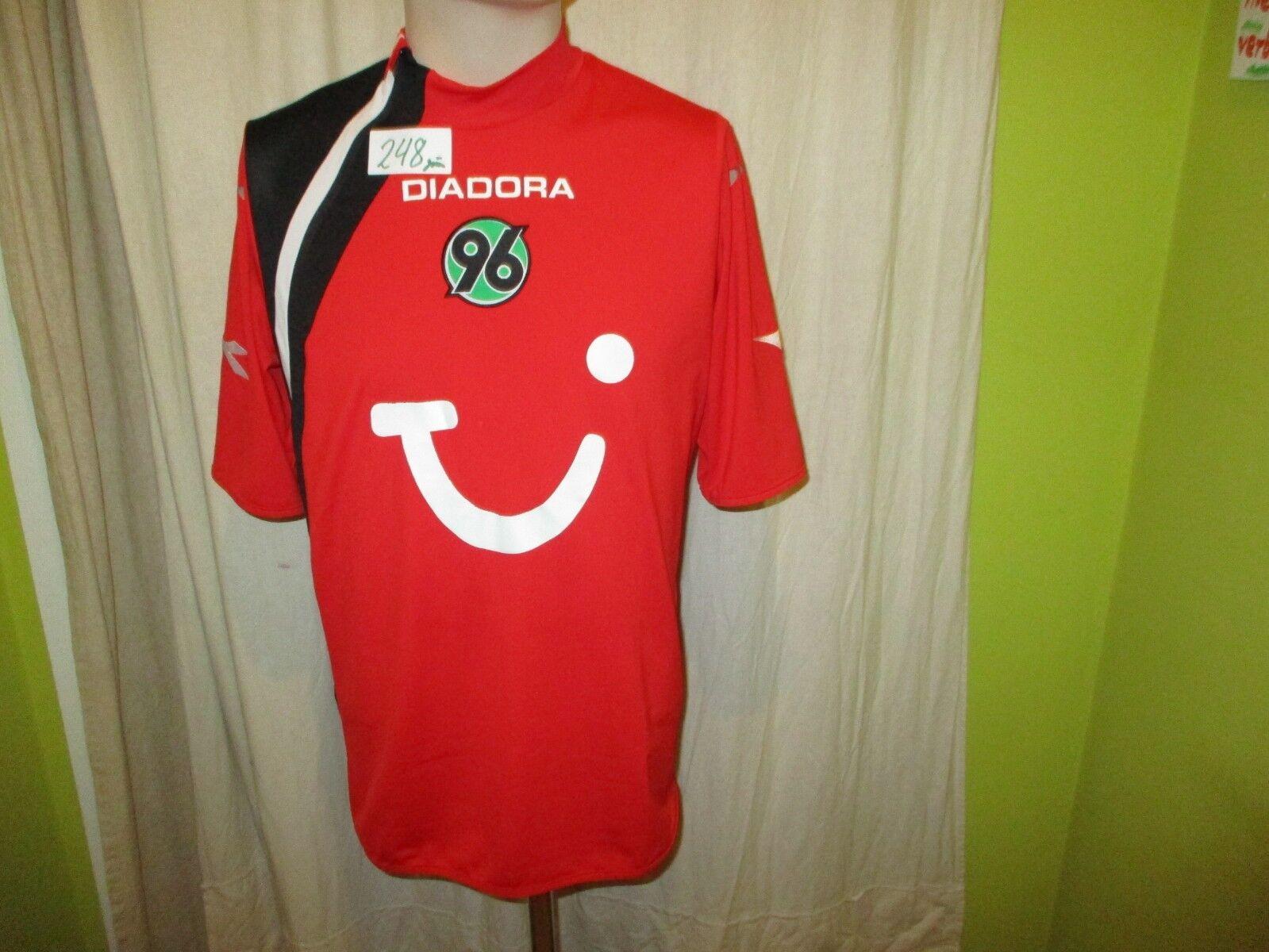Hannover 96 Original Diadora Heim Heim Heim Trikot 2005 06  TUI  Gr.M- L TOP 202516