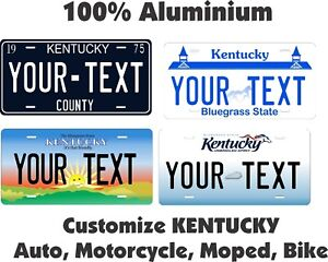 Kentucky 1956 License Plate Personalized Custom Car Auto Bike Motorcycle Moped