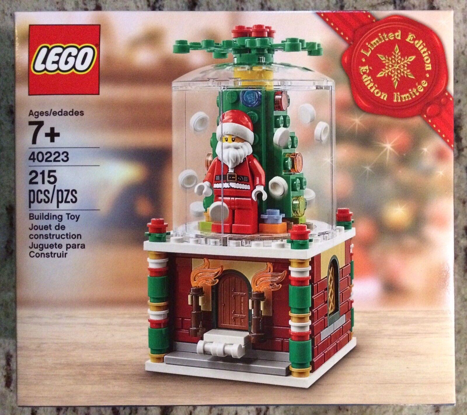 Lego 40223 Christmas Santa Snow Globe 2016 Limited Edition Set New In Sealed Box