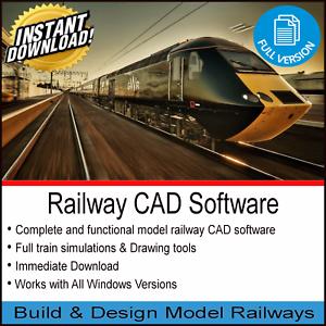 RAILWAY-CAD-SOFTWARE-2019-PRO-BUILD-amp-DESIGN-TRACK-MODELS-HORNBY-OO-GAUGE