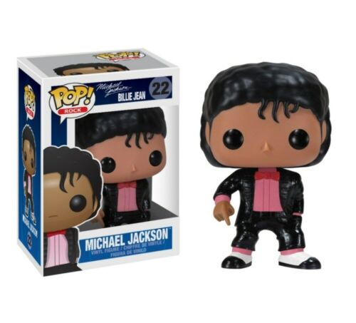 Funko Pop Michael Jackson Doll Vinyl Action Figure Toy Xmas Gift In Box King Red