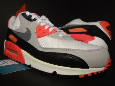Nike Air Max 90 OG Infrared WhiteCool GreyNeutral Grey   Footshop