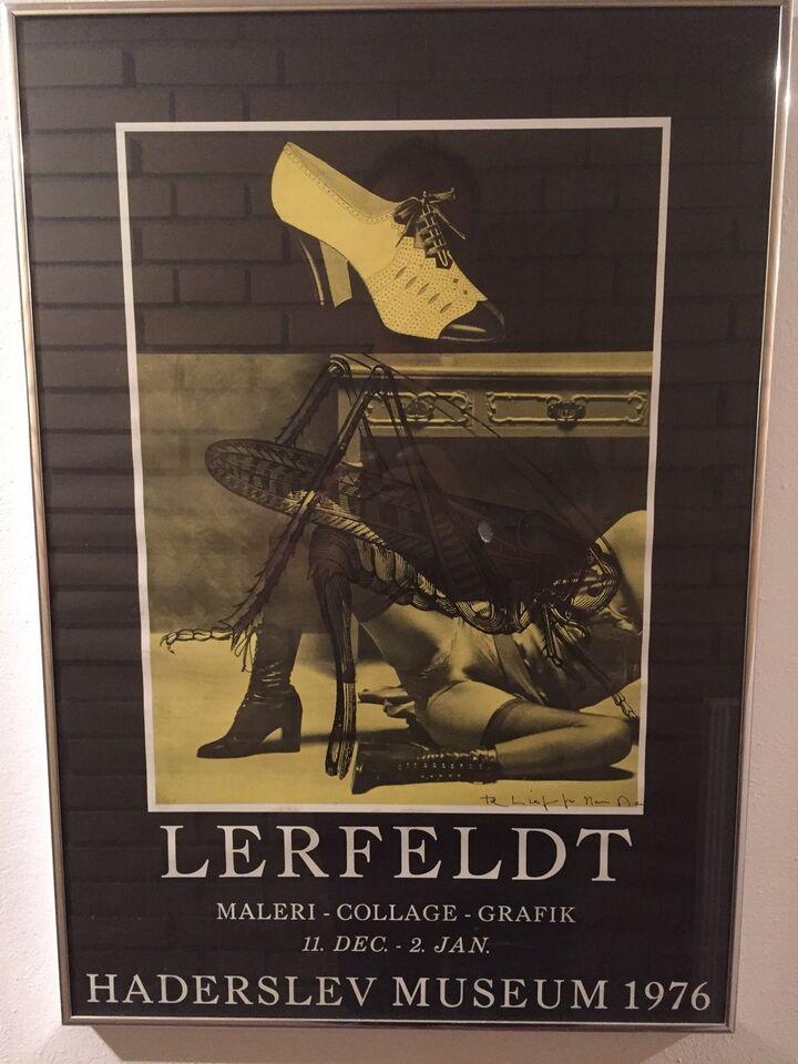 Plakater Hans Henrik Lerfeldt Ndash Dba Dk Ndash Kob Og Salg Af Nyt Og Brugt