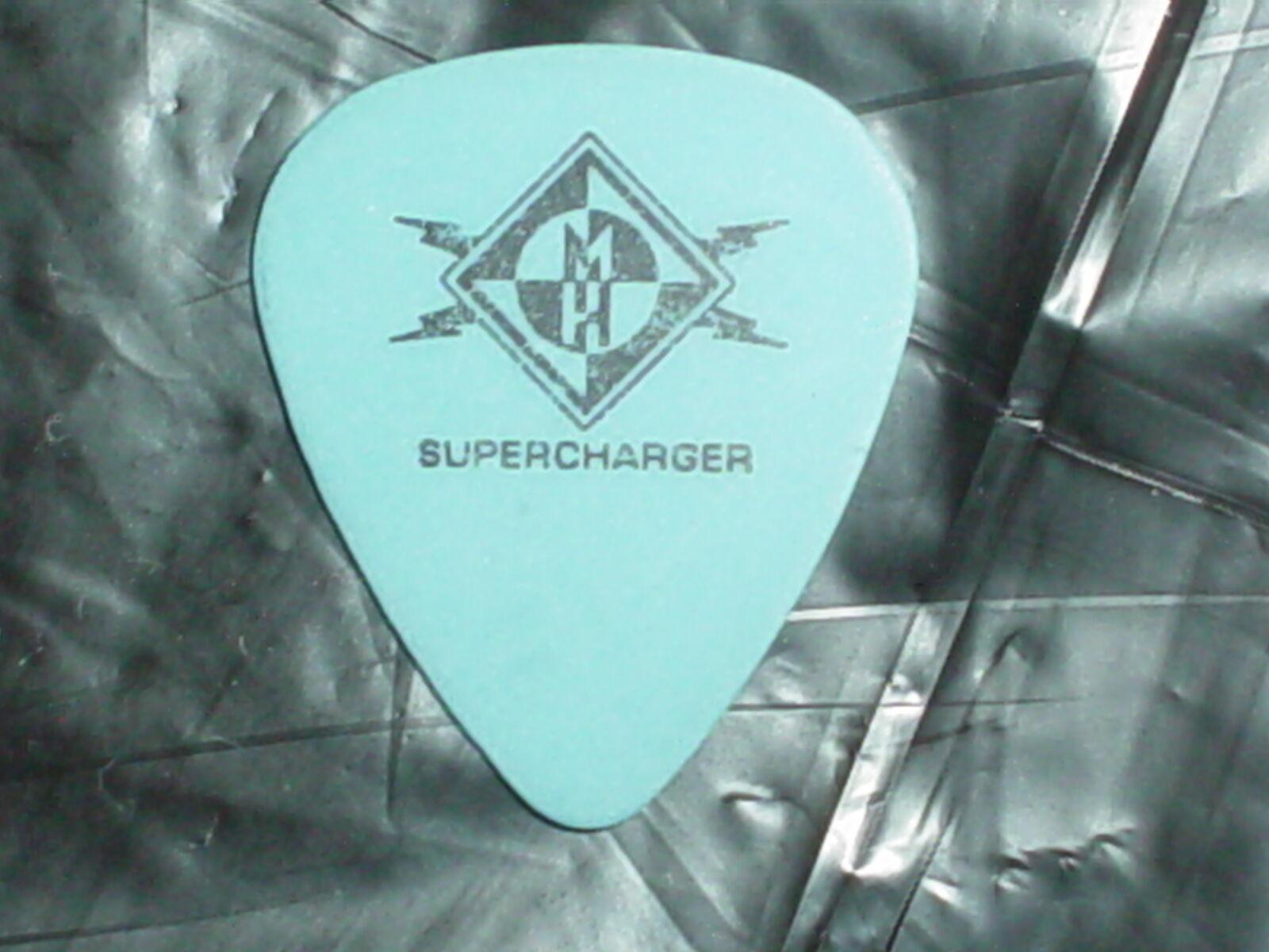 MA NE HEAD Logo & Ahrue Lusters SIGNATURE 2004 SUPERCHARGER Tour GUITAR PICK