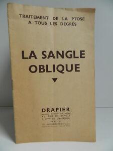 Catalogue Commerciale Cinghia Obliquo Guaina Trattamento La Ptosi Draper 1940