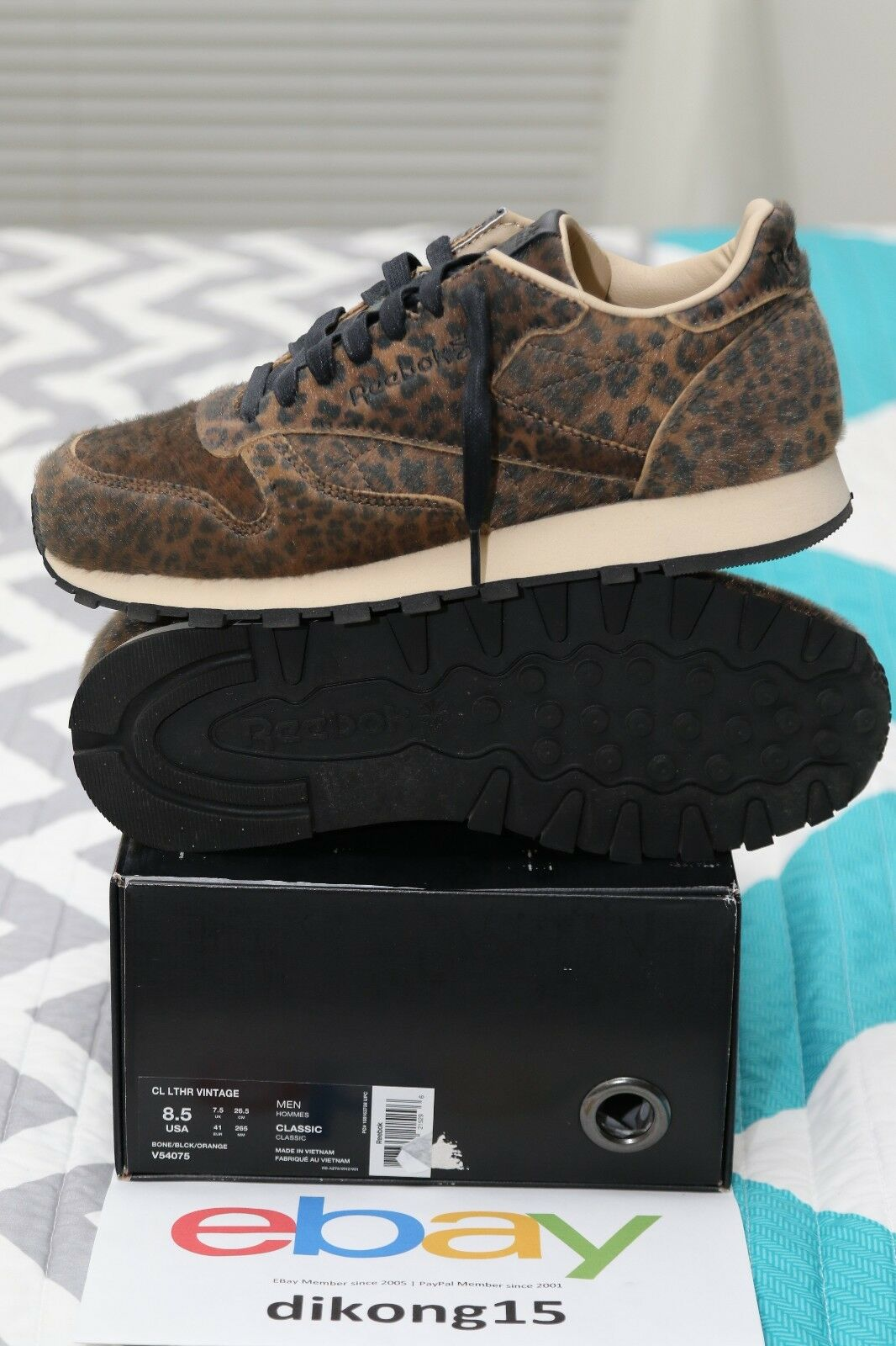 Reebok Classic Cheetah Leather x Head Porter Plus Cheetah Classic (8.5 Uomo = 10 WMNS) 4c1b98