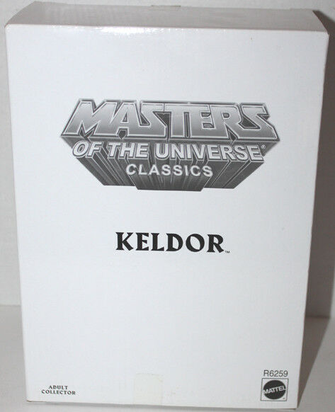 He Man Motuc Classics Keldor con zoloworld Estuche Y Caja blancoa  R6259 menta en tarjeta