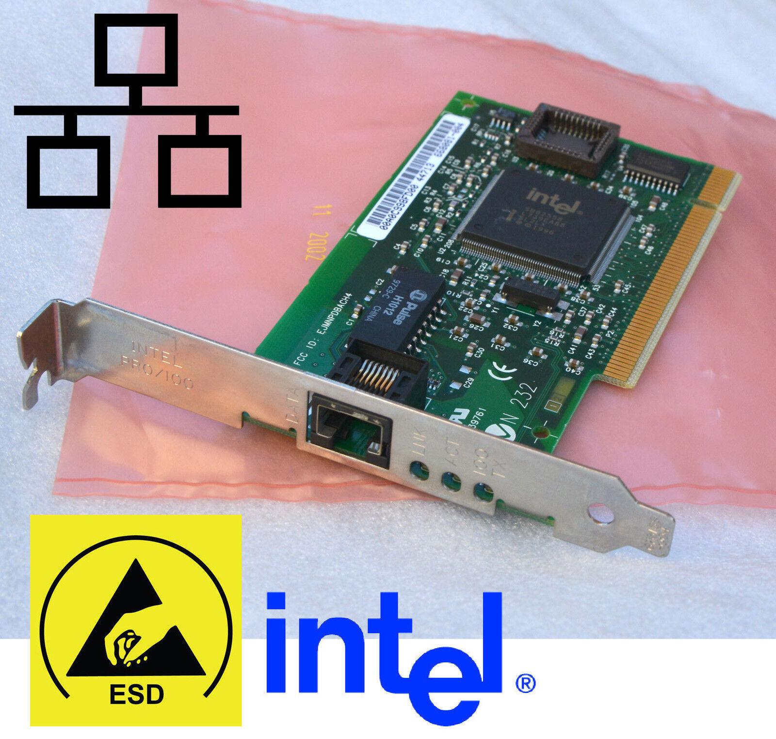 10/100 pci network card intel pro/100 ms