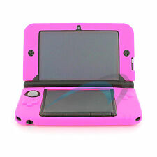 Hot Pink Soft Silicone Cover Nintendo 3DS XL LL Protective Case Skin Gel Bumper