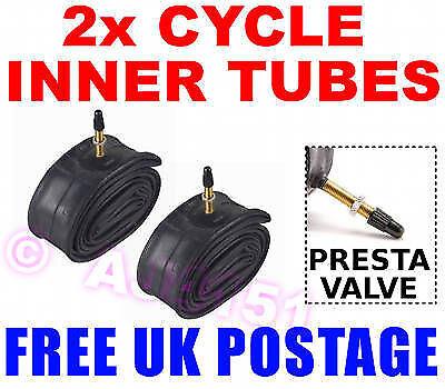 2x PRESTA Inner Tube fits 700c x 35//43c fits 35c 36c 37c 38c 39c 40c 41c 42c 43c