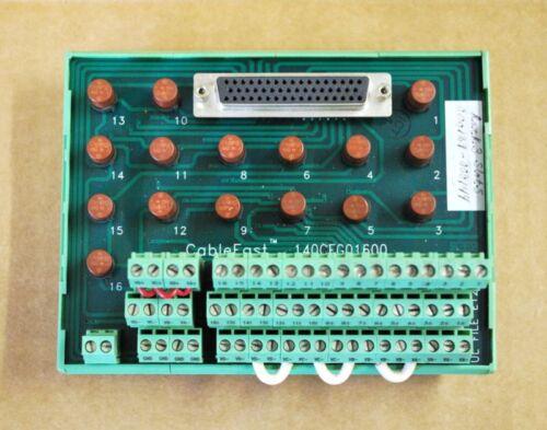 Schneider Modicon Cablefast G,DO Block USED 140CFG01600