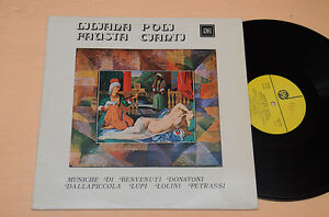 DALLAPICCOLA-PETRASSI-LP-CONTEMPORARY-MUSIC-AUDIOFILI-TOP-NEAR-MINT-NM